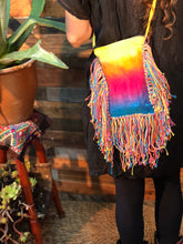 Load image into Gallery viewer, Rainbow tassle bags