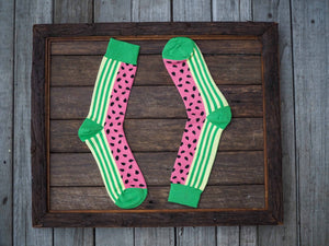 Watermelon delight Socks