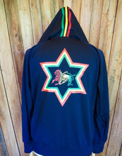 Load image into Gallery viewer, Rasta hoodie- Polyester
