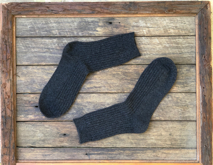 Charcoal- Merino wool socks