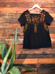 Little Frida Top- Black
