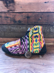 Size 36 Cloth Moccasins Mexicana 2