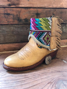 Size 36 - Convertible Cowgirl Boots - Aztec