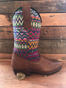 Size 37 - Convertible Cowgirl Boots - Aztec