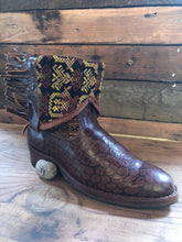 Load image into Gallery viewer, Size 39 - Convertible Cowgirl Boots - Earthy Tones