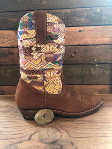 Size 41 Traditional Cowgirl Boot Pastel Play