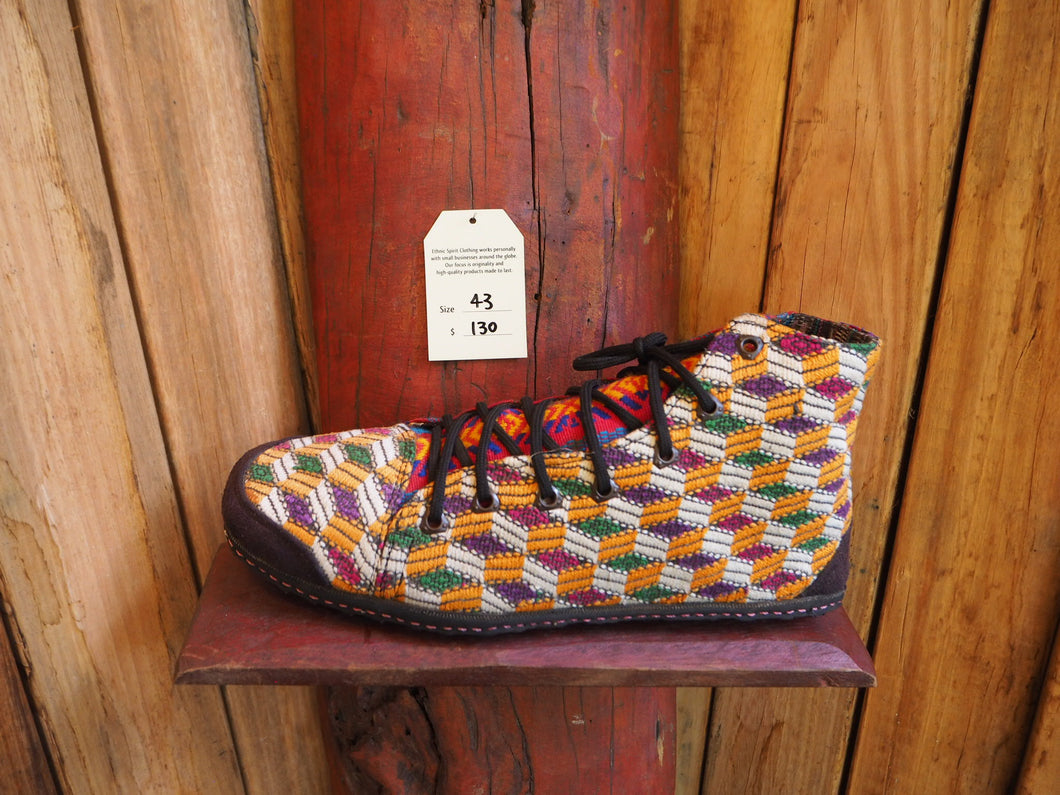 Size 43 Last of a Kind - Yellow and White Pattern