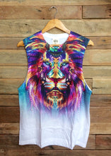 Load image into Gallery viewer, Large Arty Singlet - Wild Lion