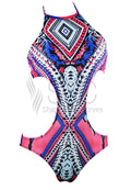 TRIBAL GYPSY ONE PIECE SWIMWEAR