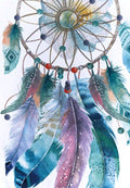 Dream Catcher Mandala Beach Mat