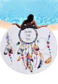 Dream Catcher Round Beach Mat