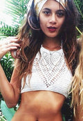 BEACH CROCHET SWIMSUIT TOP