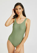 Backless One Piece Swimsuit Monokini Swimwear