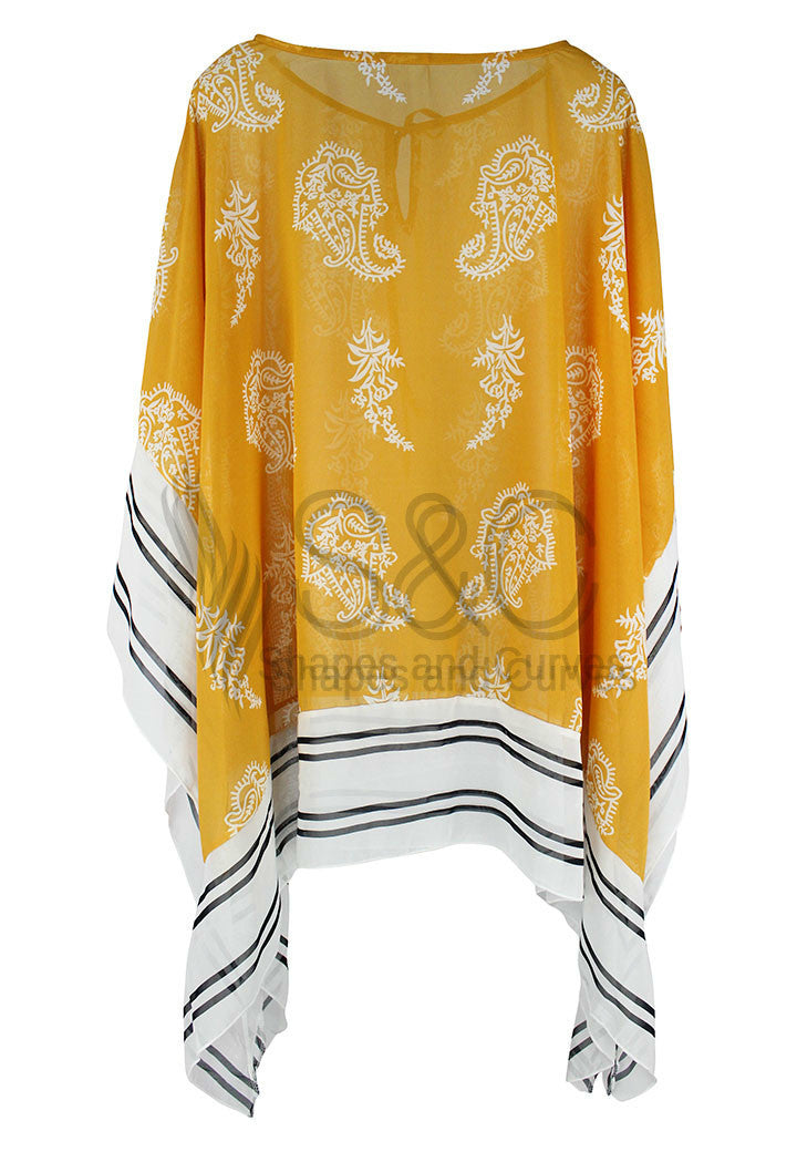 SUNGLOW CHIFFON COVER UP