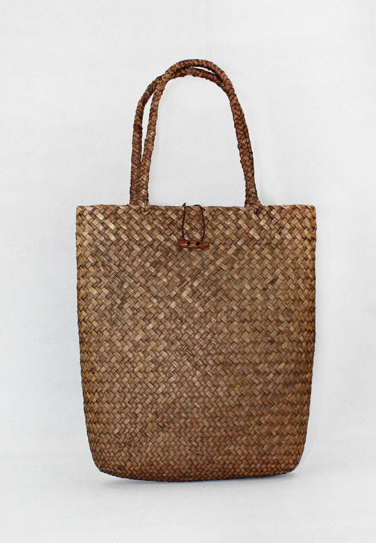 HANDMADE NATIVE KNIT ABACA RUGS TOTE BAG