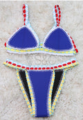 SEXY BRAZILIAN TRIKINI HANDMADE TWO PIECE SWIMWEAR
