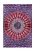 VIBRANT TRIBAL RECTANGULAR BEACH MAT