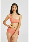 One Shoulder Bikini Highwaist Two Piece Swimwear
