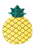 PINEAPPLE BEACH MAT