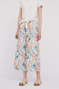 Printed Square Pants Culottes Pajama Pants Lounge Wear