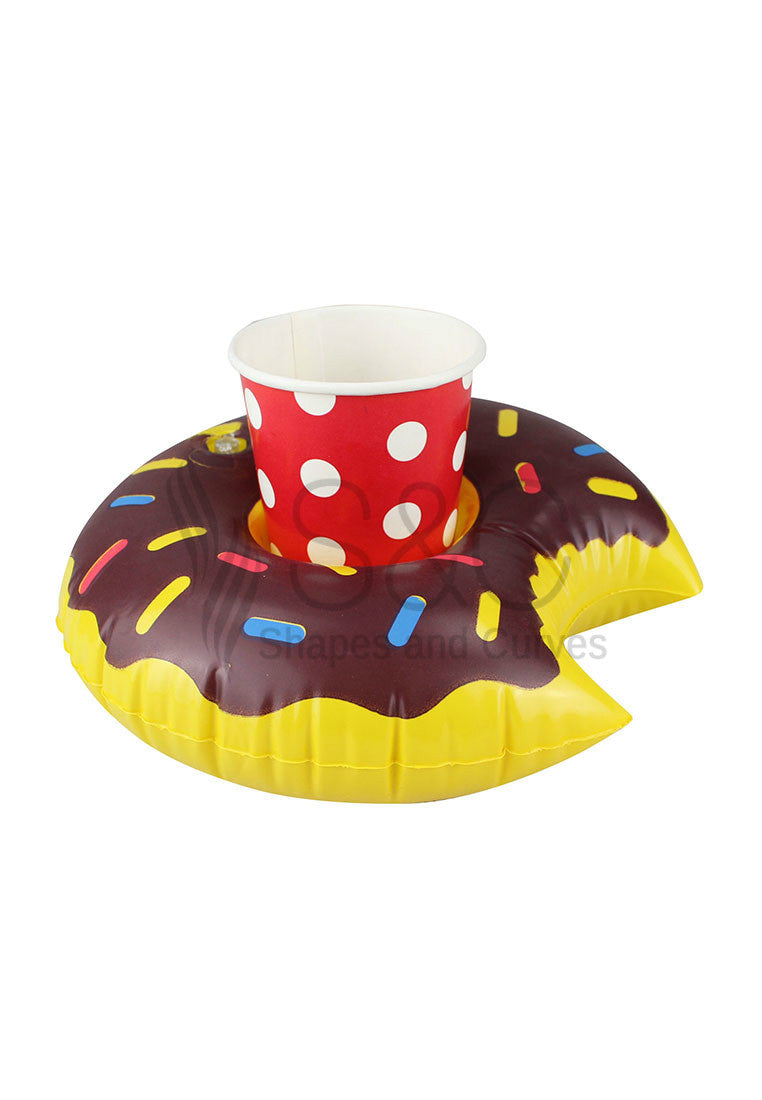 MINI DONUT POOL AND BEACH DRINK HOLDER FLOATER
