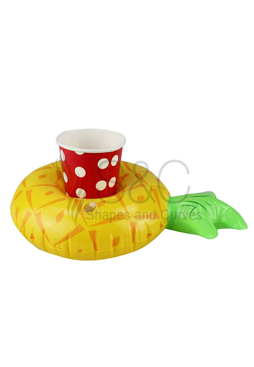 MINI PINEAPPLE POOL AND BEACH DRINK HOLDER FLOATER