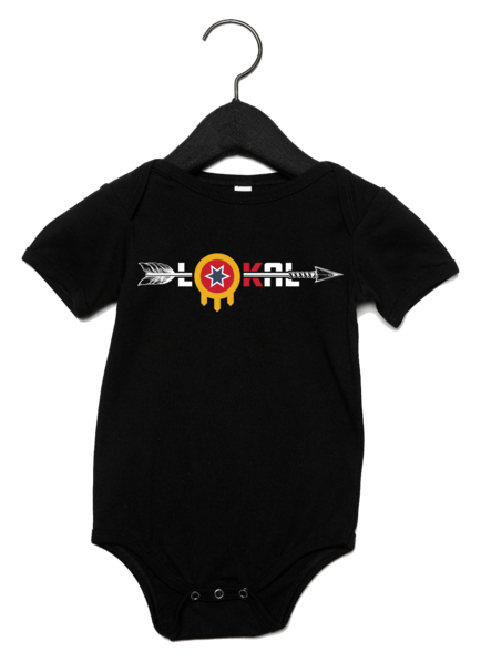 Tulsa Flag Infant Onesie
