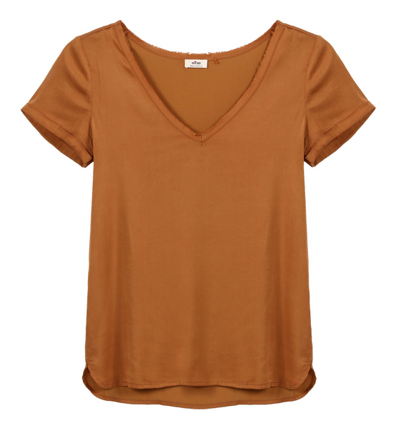 Sacks Rumi Top Caramel