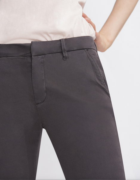 Sandy Basic Chino Pant / Carbone
