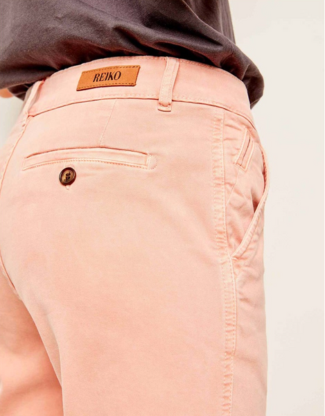 Scott Tappered Chino Pants/ Dusty Coral