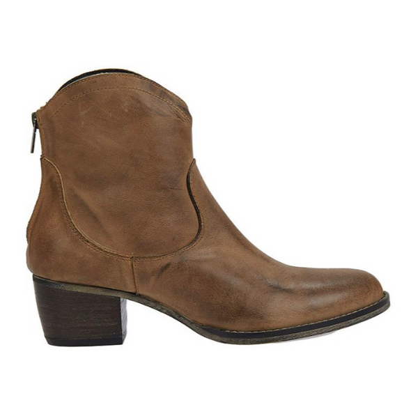 Estilo Emporio Love Zip Boot Tan