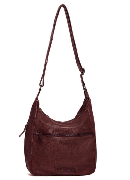 Sticks & Stones Gaia Bag / Burgundy