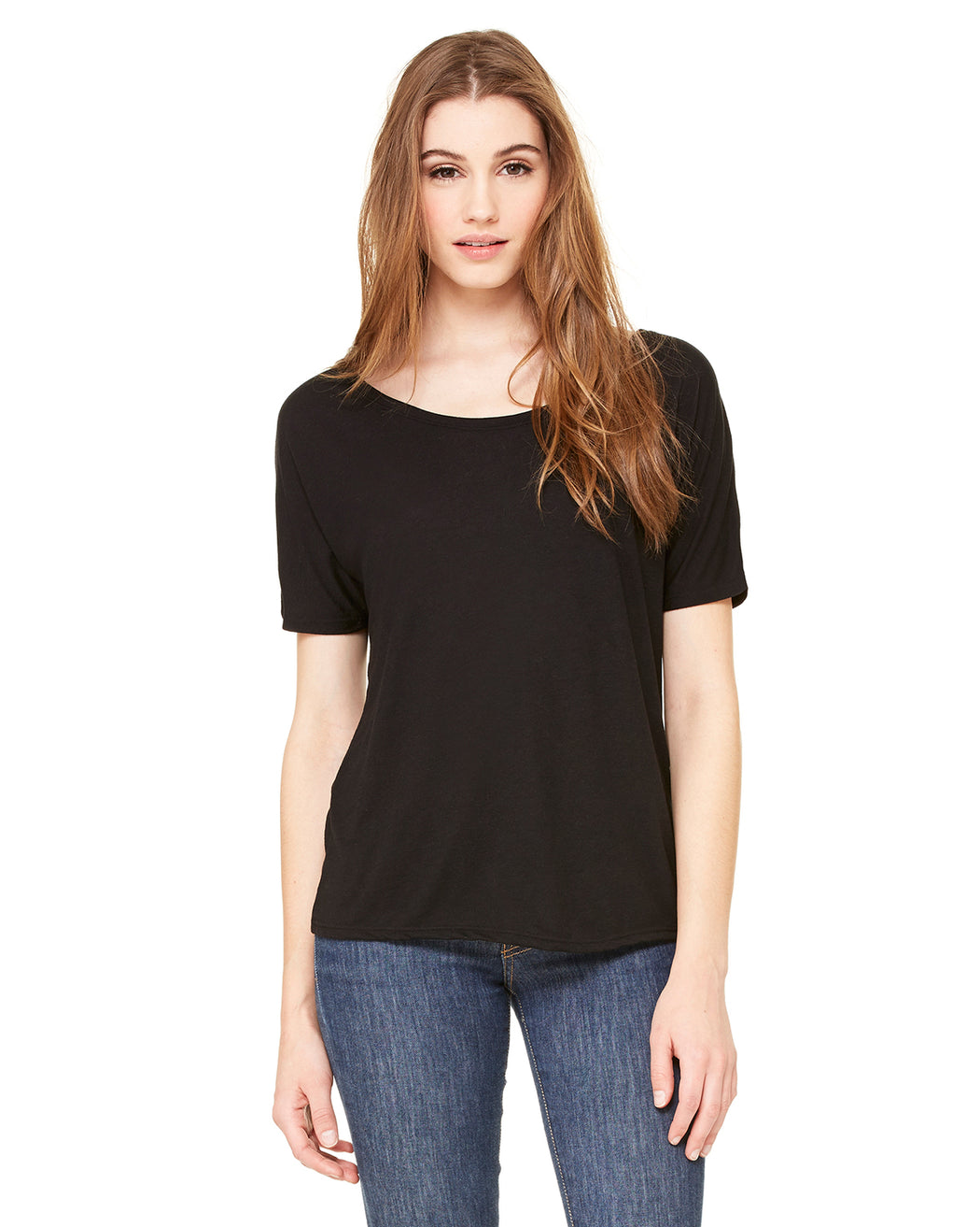 Ladies' Slouchy T-Shirt - 8816