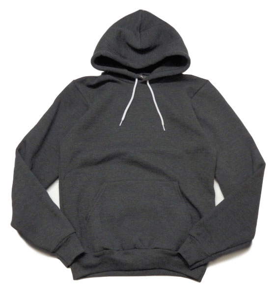 Fleece Drop Shoulder Pullover Hoodie (F498)