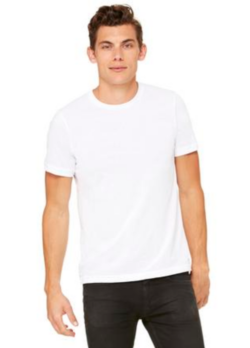 Bella & Canvas POLY-COTTON SHORT SLEEVE TEE (3650)