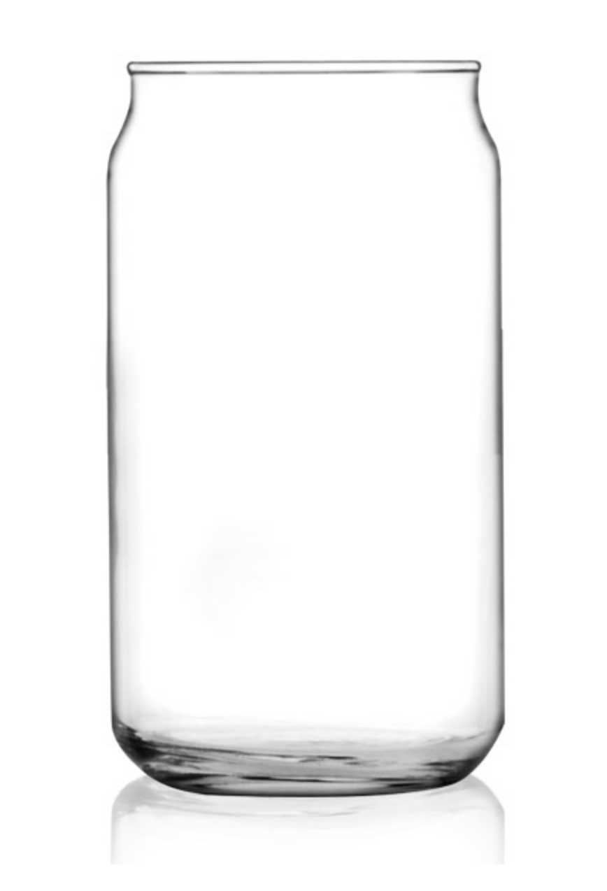 Can Glass (16 oz or 20 oz)