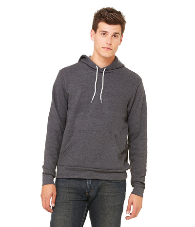 Bella + Canvas Poly-Cotton Fleece Pullover Hoodie (3719)