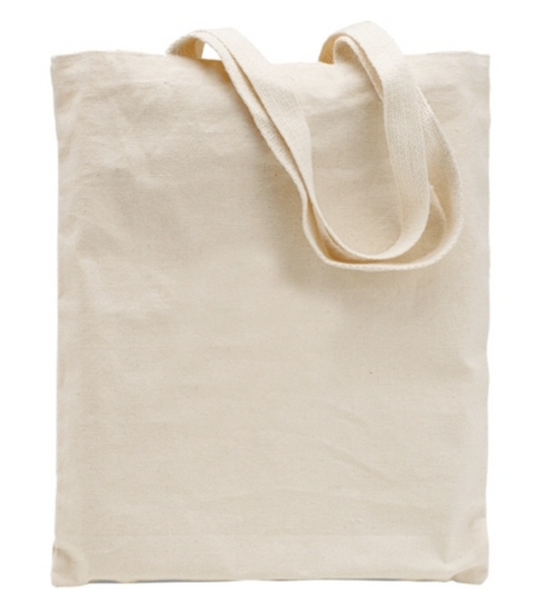 Cotton Flat Tote