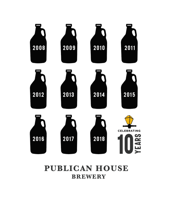 10 Years of Craft Brewing