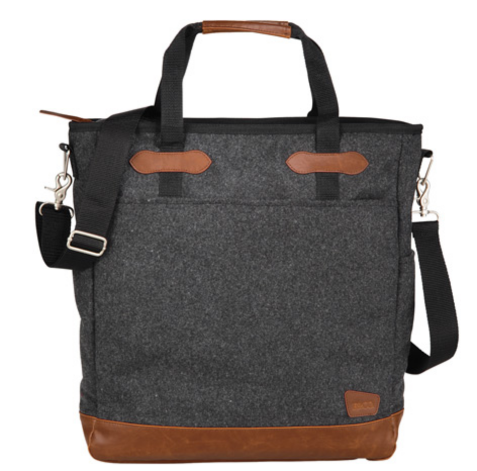 "Campster Wool 15"" Computer Tote"