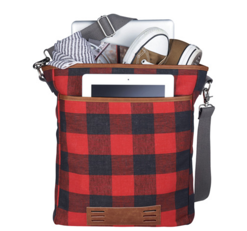 "Plaid Campster 15"" Computer Tote"