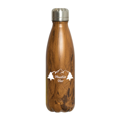 Water Bottle for Hot + Cold Beverages, 500 ML. (17 OZ.)