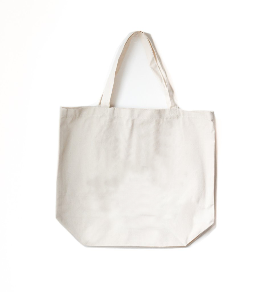 Deluxe Cotton Tote with Gusset