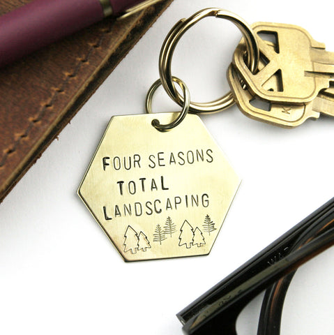 Four Seasons Total Landscaping Keychain