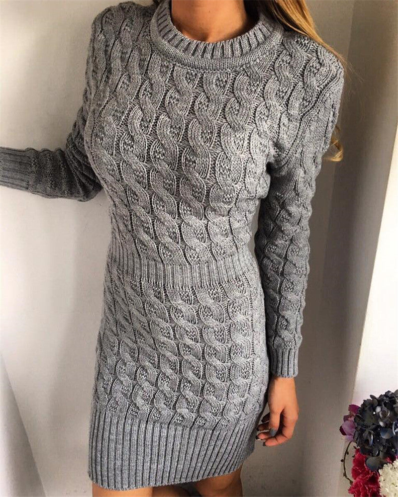 Winter Knitted Dress