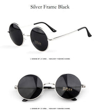Round Designer Steam Punk Sunglasses