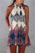 Boho Halterneck Beach Dress