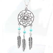 Retro Dream Catcher Necklace