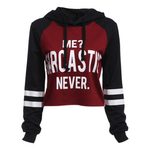 Me sarcastic? Never Sweater
