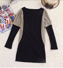 Mini Bat wing Sleeve Autumn Dress